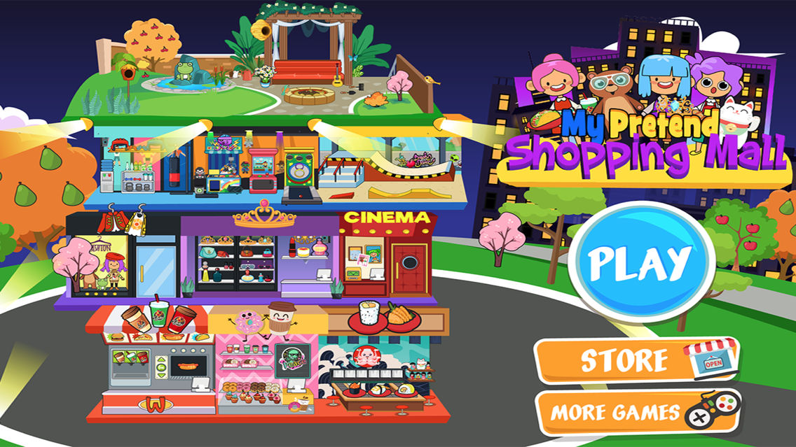 My Pretend Shopping Mall App for iPhone - Free Download My