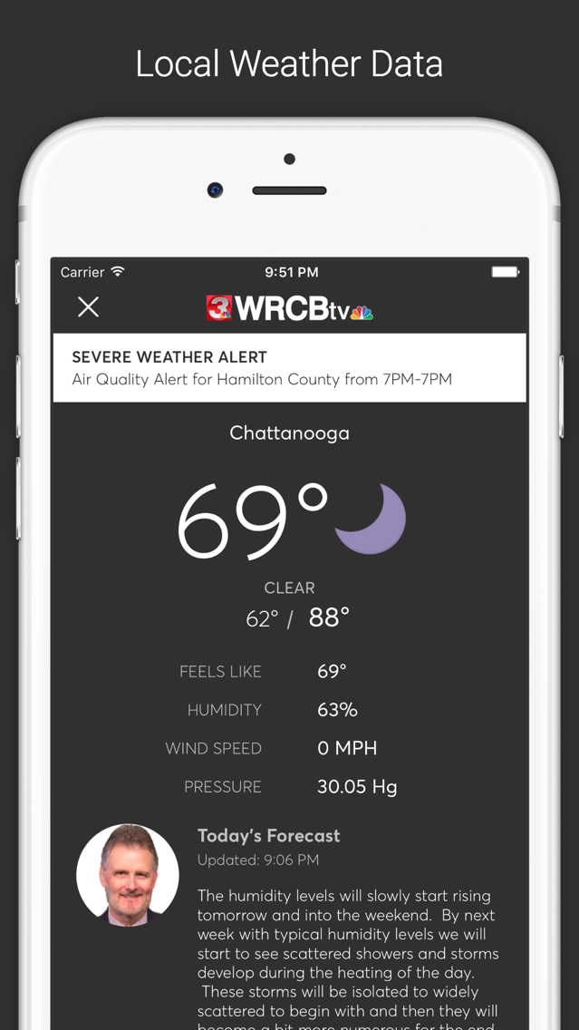 WRCB Channel 3 Eyewitness News App for iPhone - Free