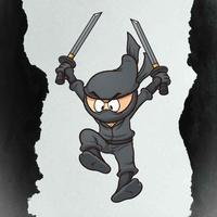 Ninja Falling Down