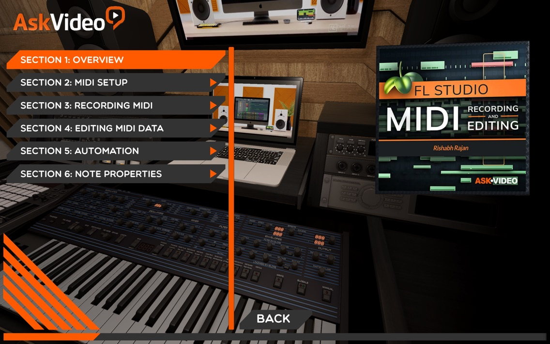 MIDI Course For FL Studio App for iPhone - Free Download