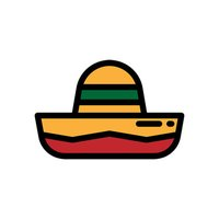 Mexico Stickers - Living la vida loca