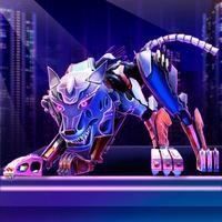 Cyborg Wolf Sim