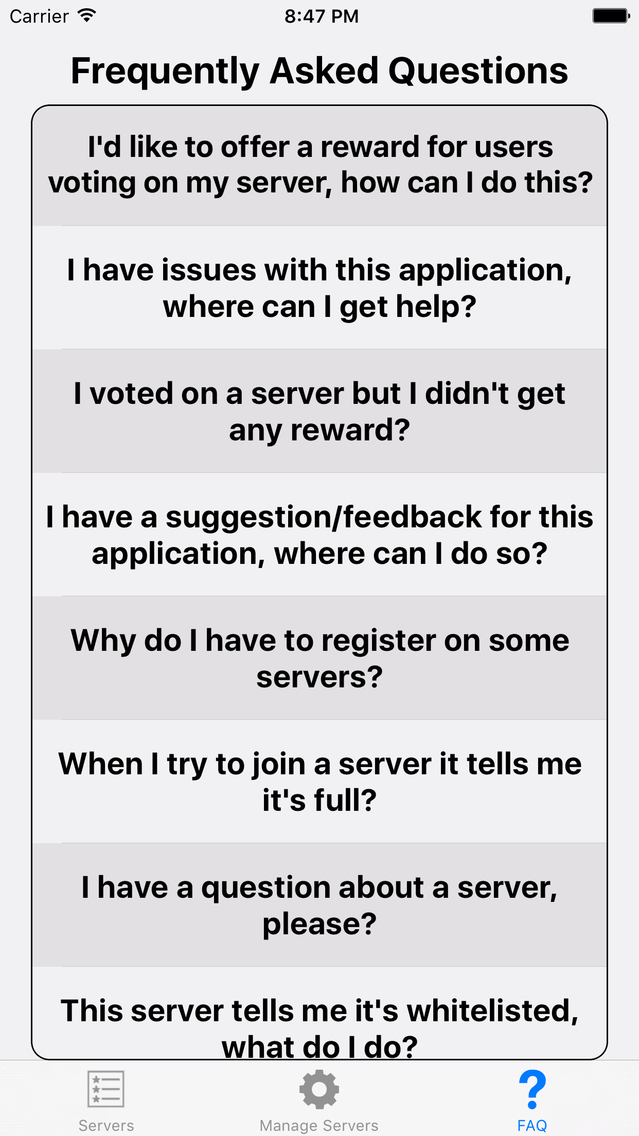 Servers for Minecraft PE - New App for iPhone - Free Download