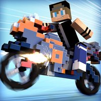 Blocky Motorbikes . Crazy GP Motorbike Racing Game