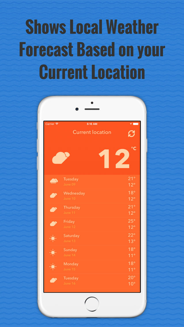 Thunderstorm-Local Weather App for iPhone - Free Download