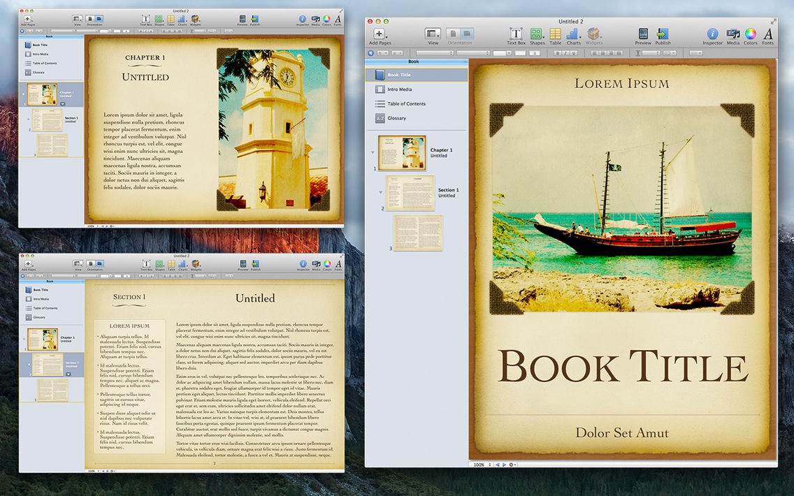 Design for iBooks Author App for iPhone - Free Download
