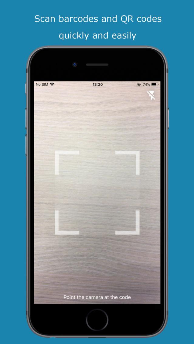 Avira QR Code Barcode Scanner App for iPhone - Free Download