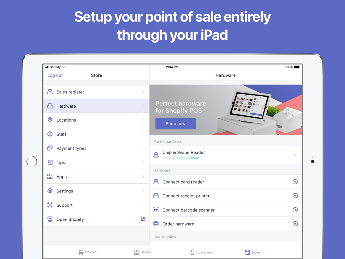 Shopify POS: Point of Sale App for iPhone - Free Download