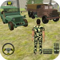 Grand Mud Off Road Army Truck