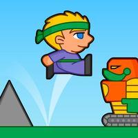 Villagers vs Robots Run
