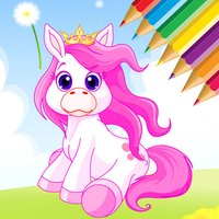 Pony Coloring Book for kids - My Drawing free game