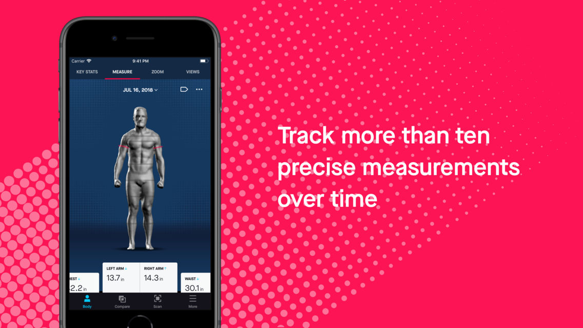 Naked — 3D Home Body Scanner App for iPhone - Free Download Naked