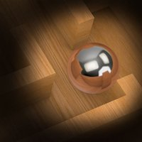 Wood Labyrinth Infinity Puzzle : The Silver Ball Traffic Maze Game - Free Edition