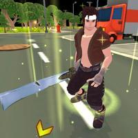 Commando Blade Furious Zombies Infinity Kill