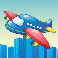 Airplanes Learning Game for Children Age 2-5: Learn at the Airport