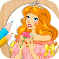 Paint and color princesses - Educational game