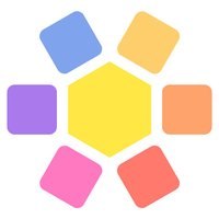 Fill Grid Square & Hexagon blocks fever hex puzzle
