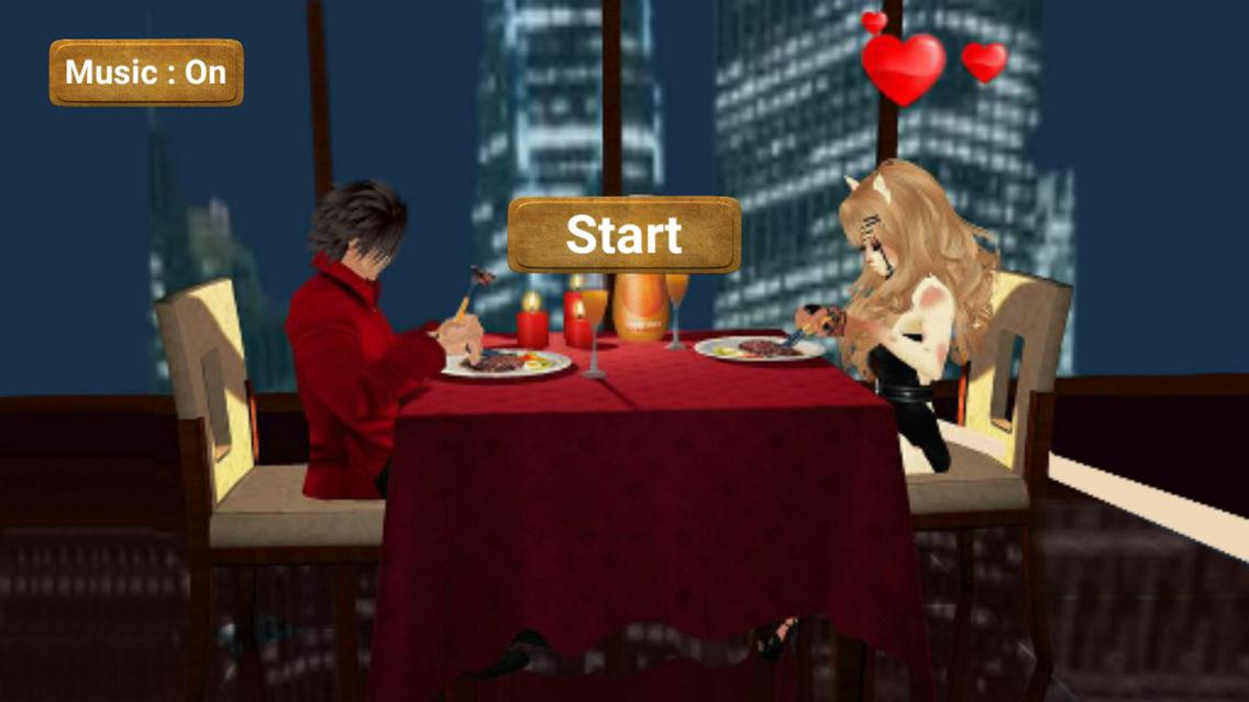 dating simulatorer for iPhone