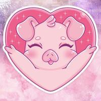 Piggy! Stickers