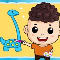 draw & doodle dinosaur
