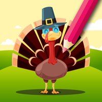 Thanksgiving Coloring Book: Learn to color & draw