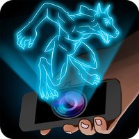 Hologram Werewolf Simulator Joke