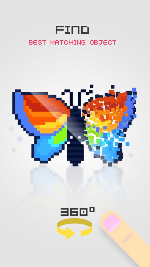 Pixelsphere - Pixel Art Game App for iPhone - Free Download