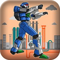 All Steel Robot Thief Escape - Action Speed Dropping War LX
