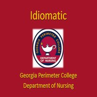 GPC Nursing Idiomatic