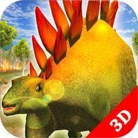 Stegosaurus Simulator Game : Dinosaur Survival 3D