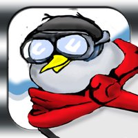 Penguin Ski Race Top Free Game - Easy Kids Snow Racing