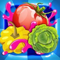 Fram Vegetales-Fruits Pop:A Classic Match-3 Puzzle Pop Casual Game