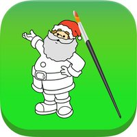 Santa Claus Christmas Coloring Book For Kids