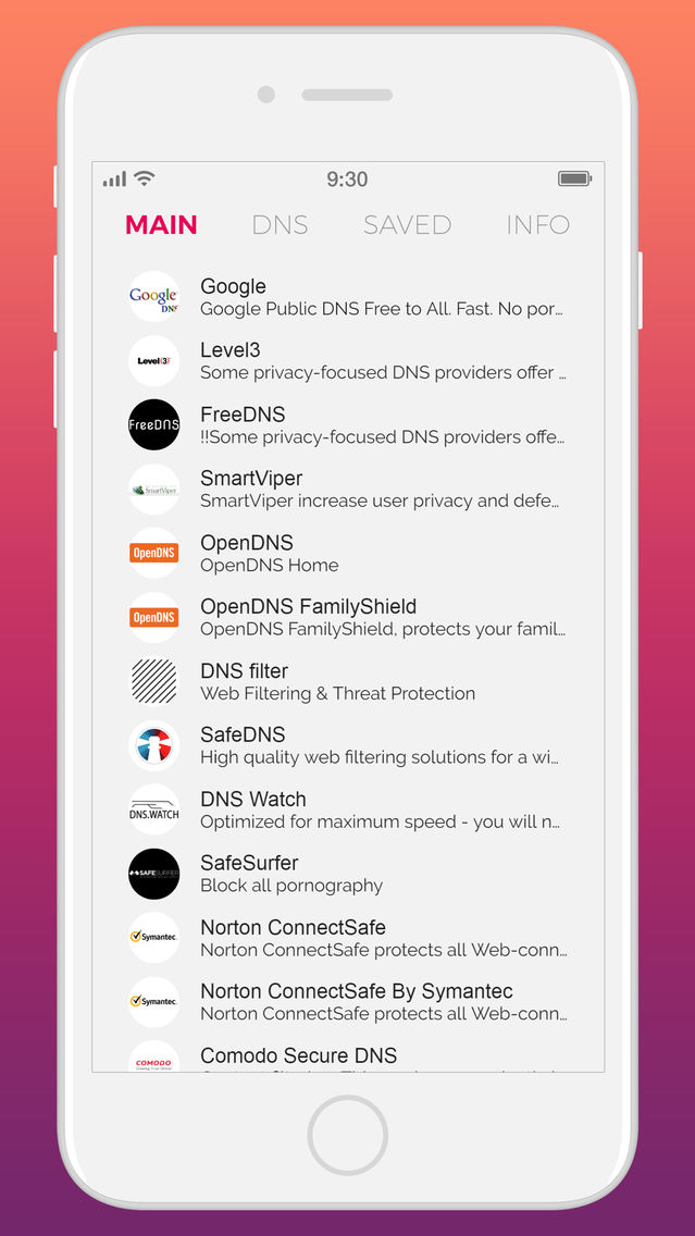 Dns Changer App for iPhone - Free Download Dns Changer for
