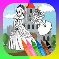 learning development-princess fairy coloring pages