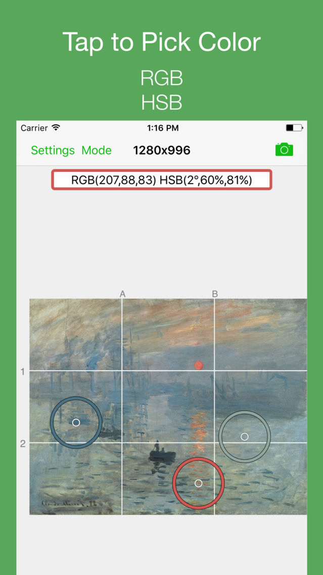 Grid # - Add grid on image App for iPhone - Free Download Grid