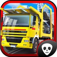 Truck parking 3D Monster Construction Trucks Driving Simulator Race Game