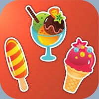 The shadow puzzle sweets. Educational game HD