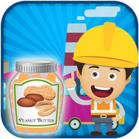 Peanut Butter Spread Factory Simulator - Make tasty sweet jam in this chef cooking game