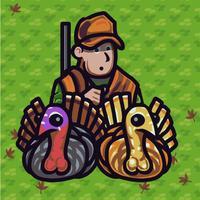 Wild Turkey Hunter-Turkey Hunting