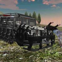 Zombie Killer Truck Driving 3D: Crush & Kill