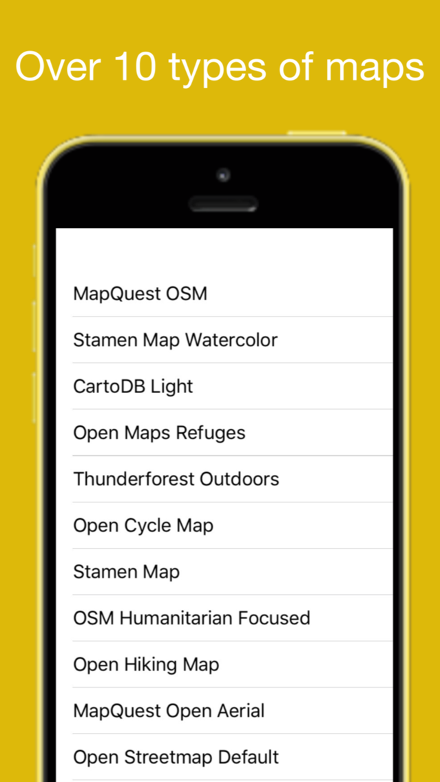 OpenMaps - digital maps App for iPhone - Free Download