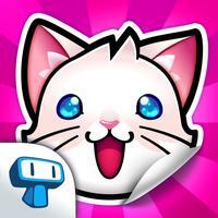 My Cat Album - Virtual Pet Sticker Book Game