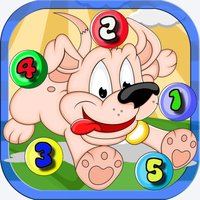 123 Dogs Math kids addition and subtraction games