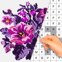 Cross stitch : Color by Letter