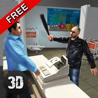 Vegas Supermarket Gangster Escape 3D