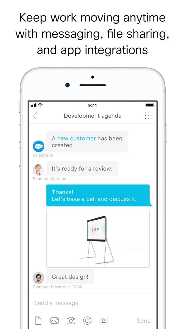 Cisco Webex Teams App for iPhone - Free Download Cisco Webex