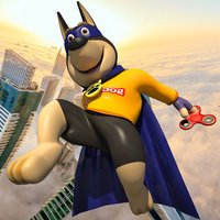 Flying Dog Hero Crime City