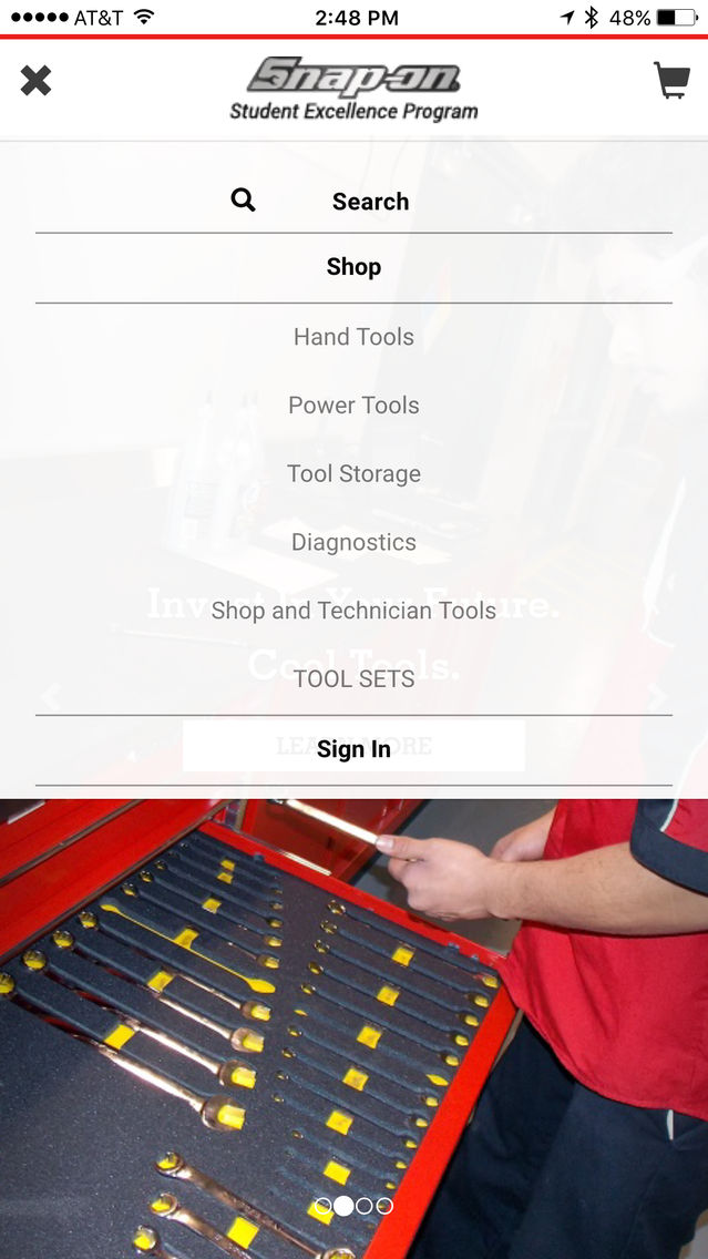 Snap-on Student Excellence Program App for iPhone - Free