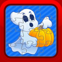 Cute Halloween Jigsaw Puzzle Games for Toddlers